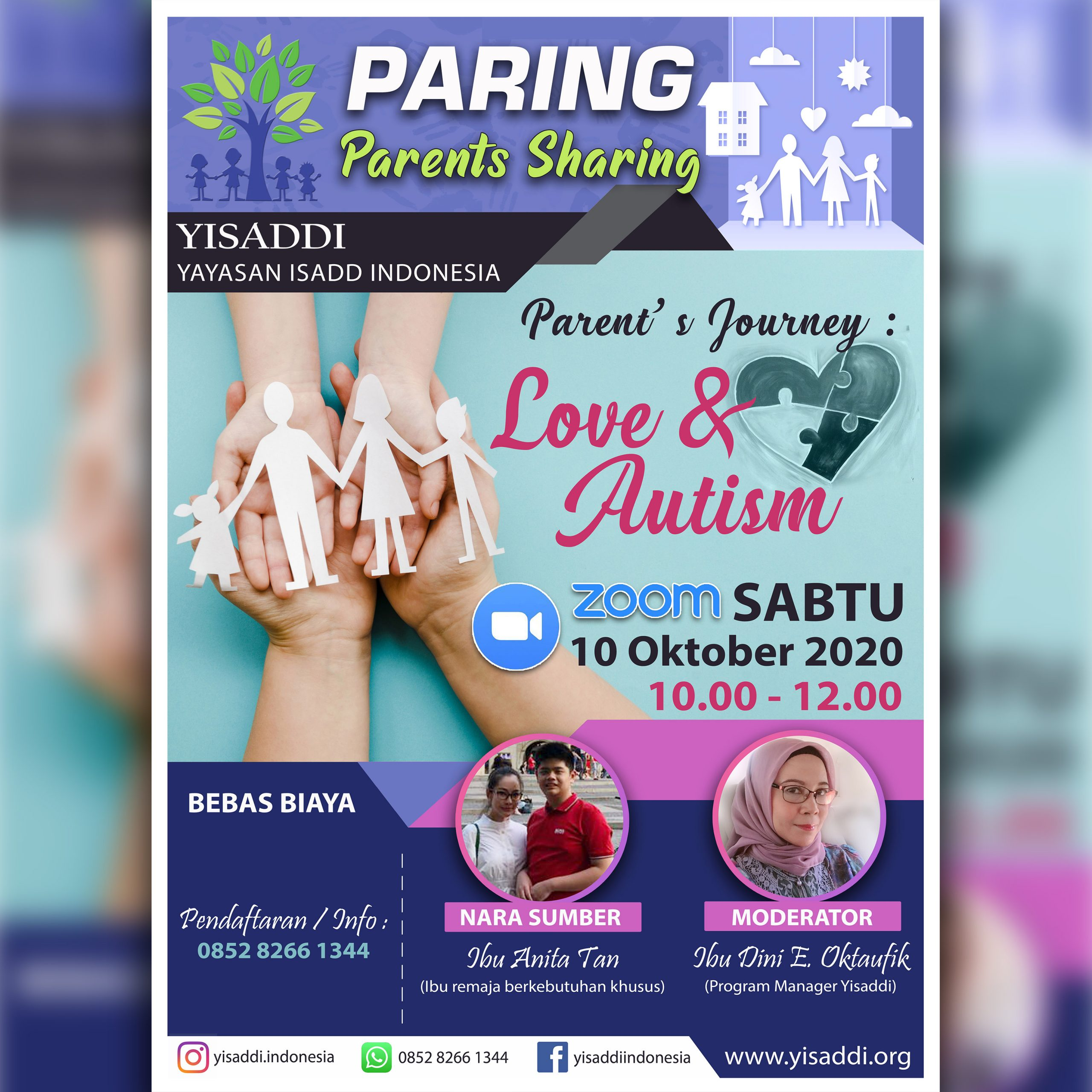 PARENT'S SHARING : PROGRAM TERBARU DARI YISADDI
